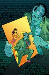 DIRK GENTLY salmon of doubt  #9 cover