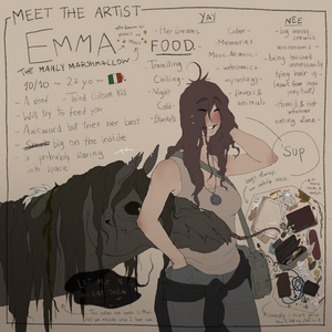 Meet the artist thingie