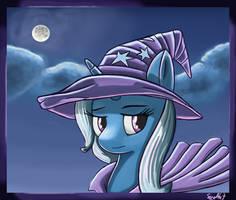 Quick Trixie Portrait by Sceathlet