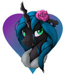 Queen Chrysalis Portrait