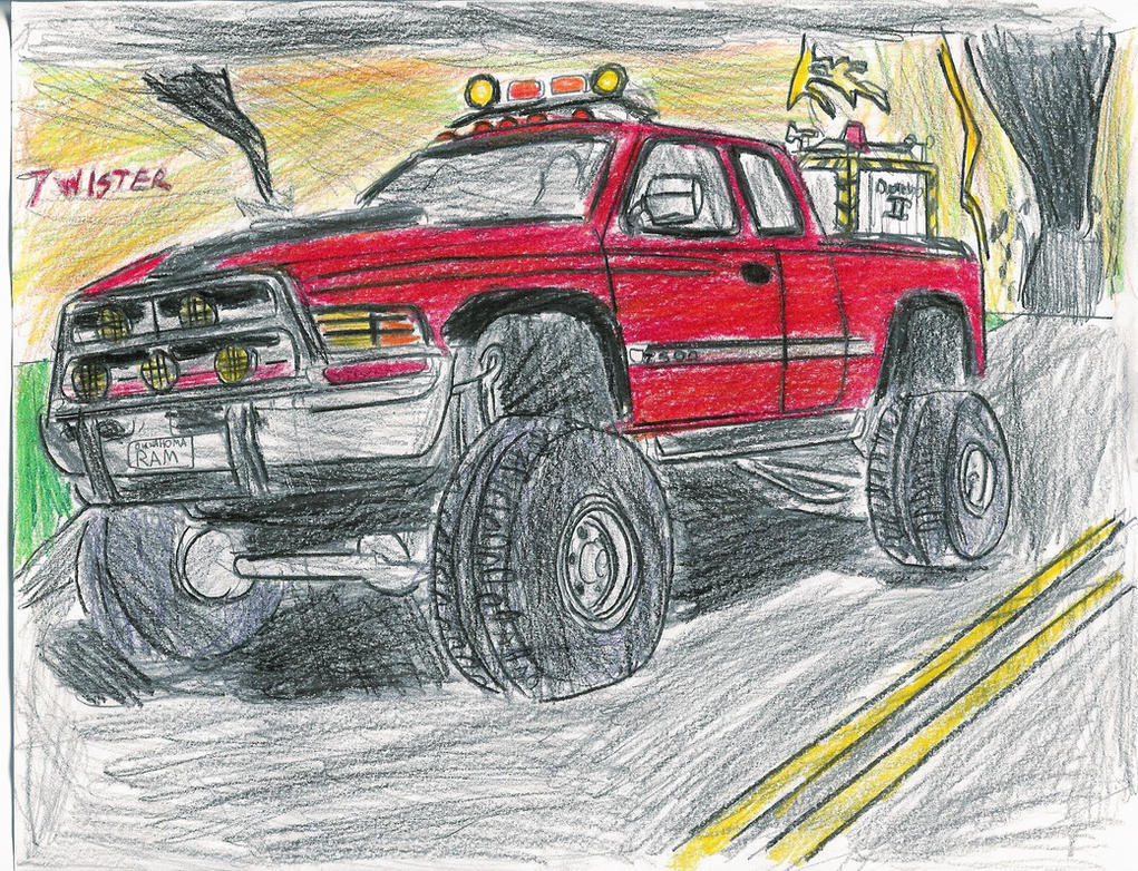 TWISTER Dodge Ram- My Version by carfan on DeviantArt