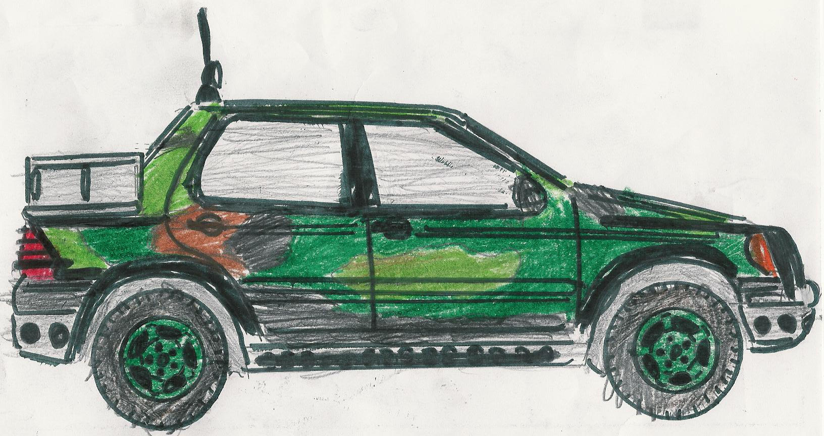 Jurassic Park Mercedes 2 by carfan on DeviantArt