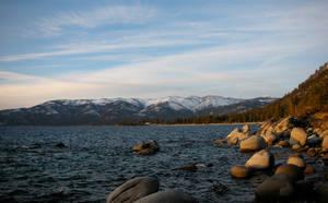 Tahoe Coastline by Jshei