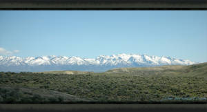 Snowy Nevada Mountains