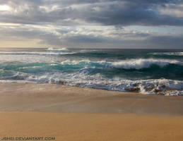 Wind and Waves by Jshei