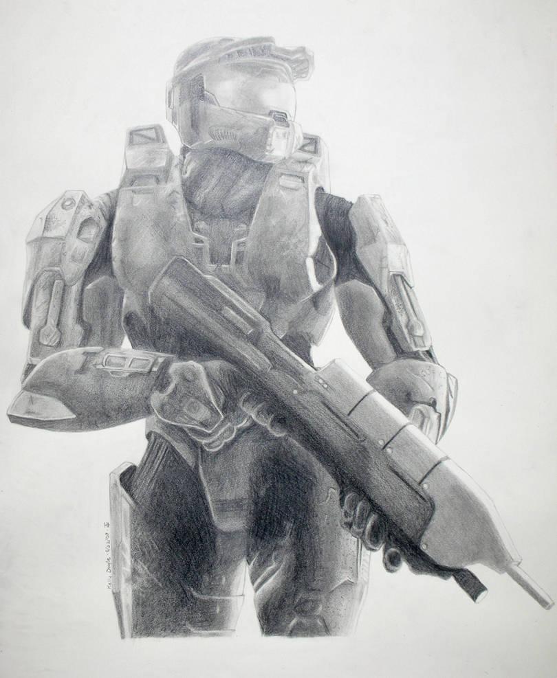Master Chief of Halo 3