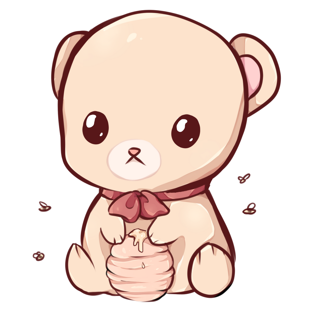 Kawaii bear by Dessineka Kawaii bear by Dessineka