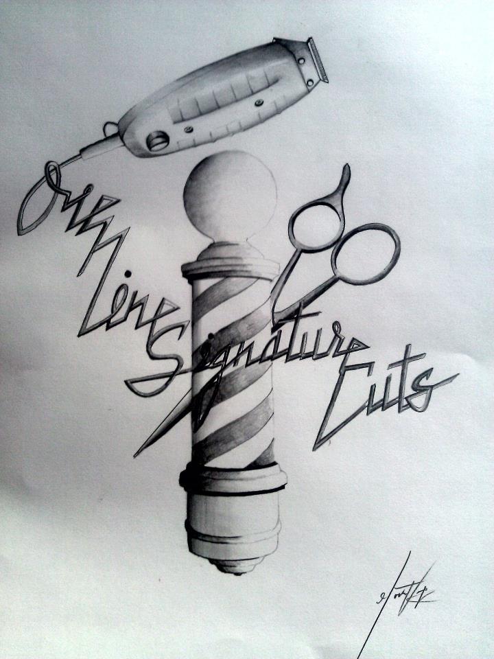 Barbershop Logo Design by MontyKVirge on DeviantArt
