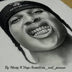 Drawing A$ap Rocky!