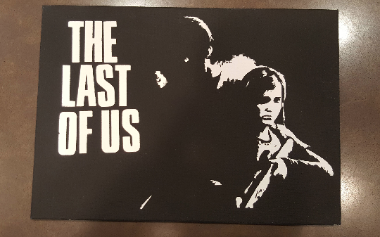 Last of Us Spray Paint Art by CloudsOfVision