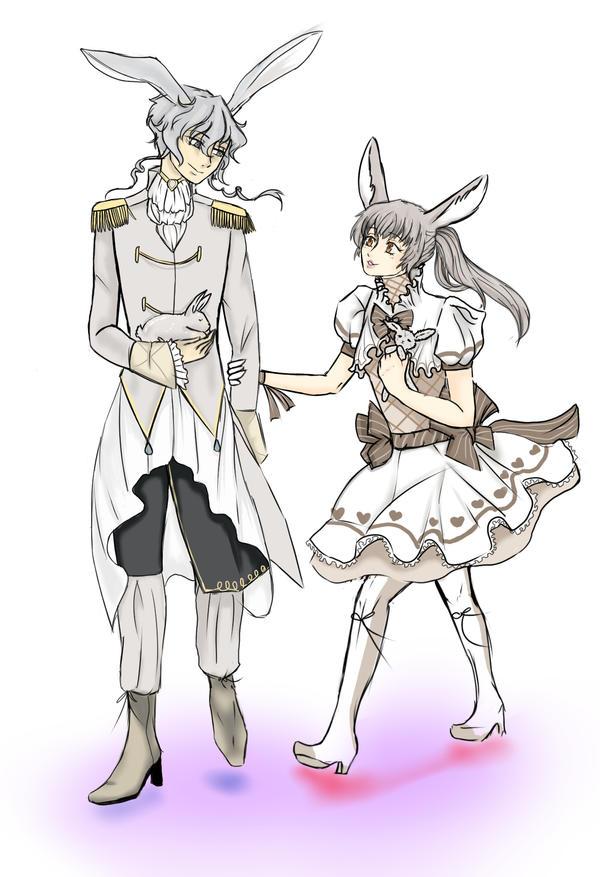 Reikiwie's Contest Corentine and Kana by Kanonshiki