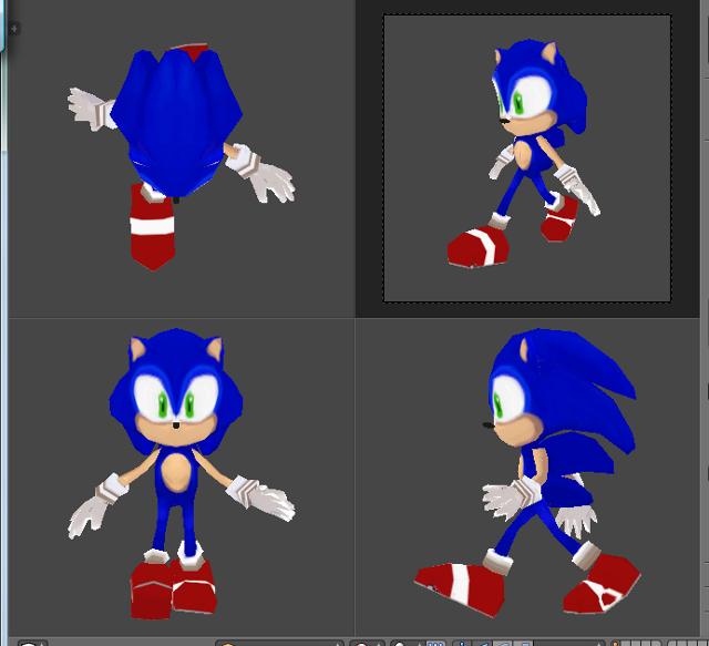 Sonic Lowpoly