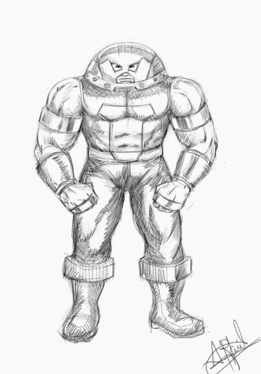 Juggernaut Sketch