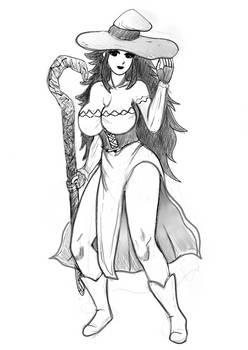 Dragons crown sorceress sketch