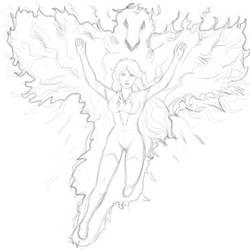 Phoenix by ruberboy