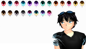 MMD Eyes texture download by TotodileDash