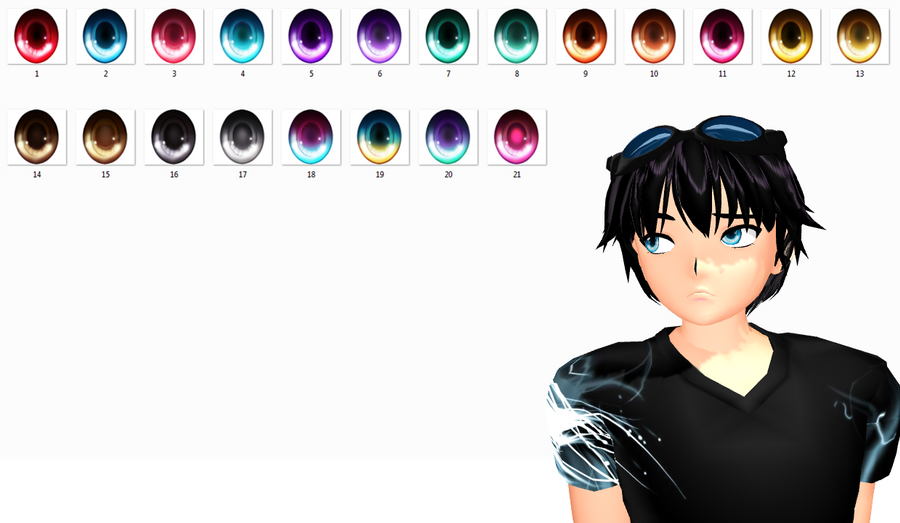 MMD Eyes texture download