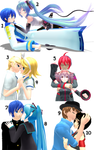 MMD Random Pose Pack 4 (Couples poses) DL