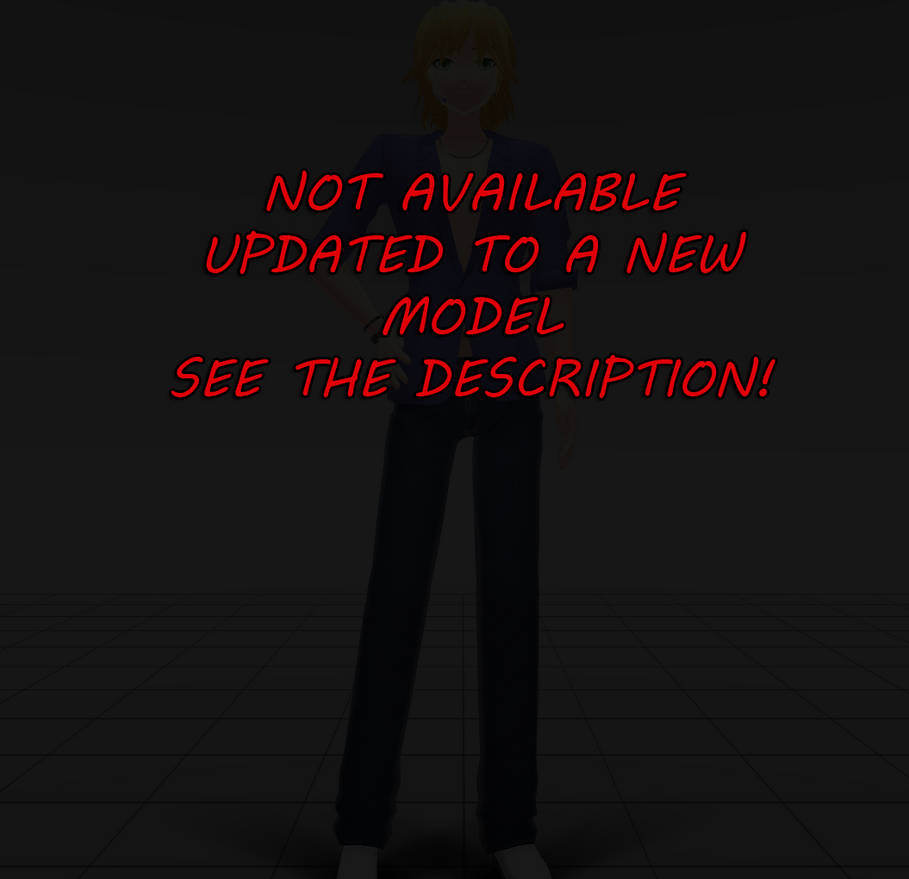 MMD Download: KIO Leon model edit