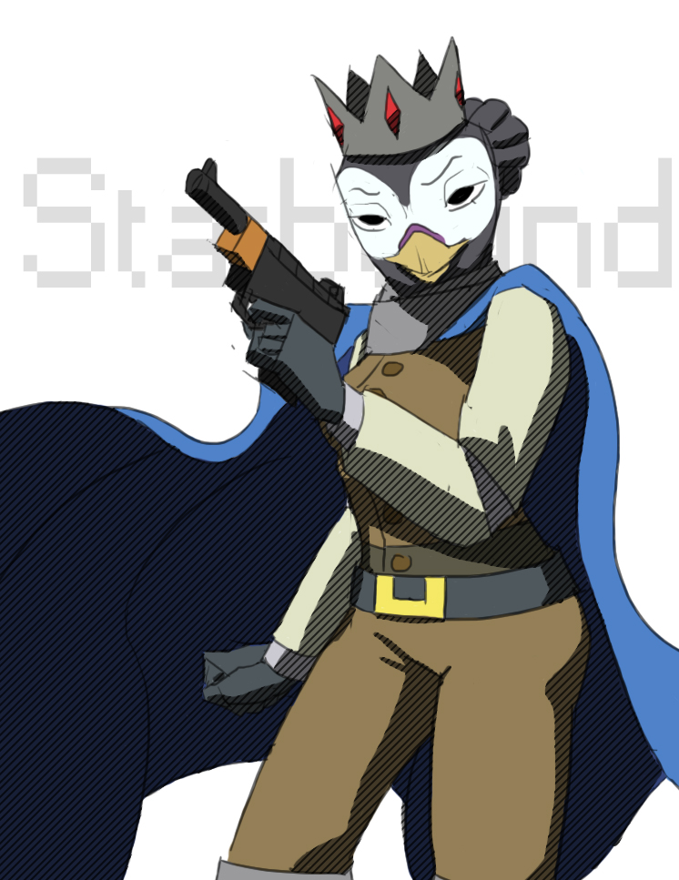 Avian Starbound Starbound Avian Character by