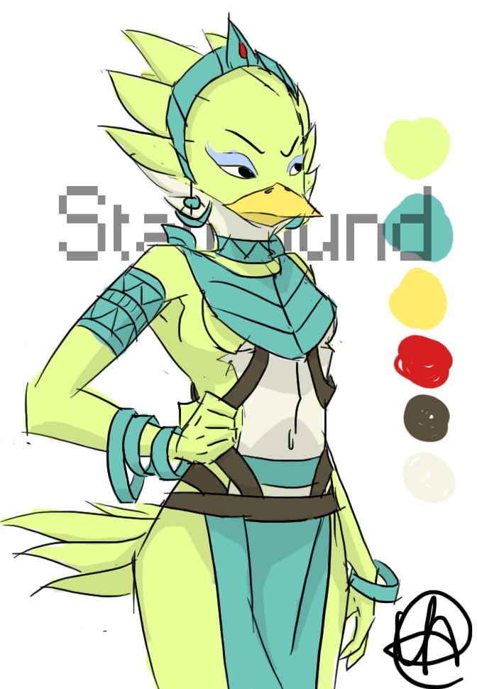 Avian Starbound Starbound Avian Princess by