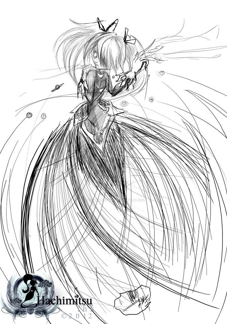 Madoka Kaname witch form - Kriemhild Gretchen by hachimitsu-ink on ...
