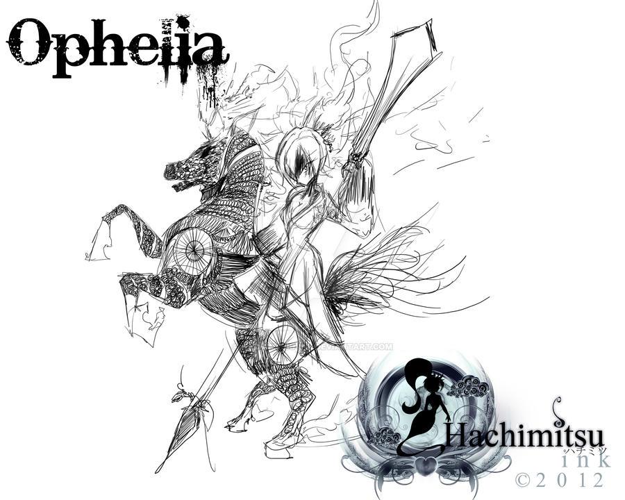 kyoko Sakura witch form - Ophelia by hachimitsu-ink on DeviantArt