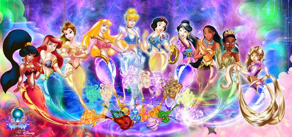 Disney harem of wonders by hachimitsu-ink