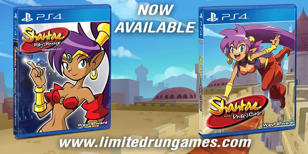 Shantae physical copies by hachimitsu-ink