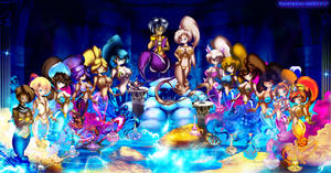- Cave of Wonders - Discord Group by hachimitsu-ink