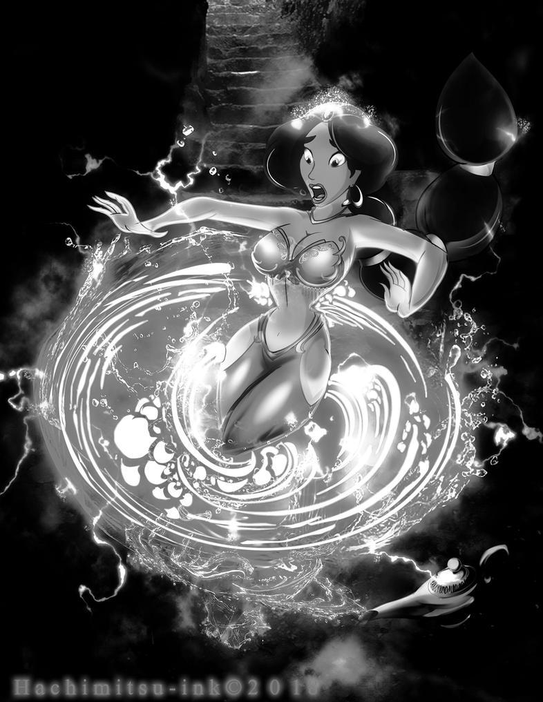 Djinnification jasmine  - Suction by hachimitsu-ink
