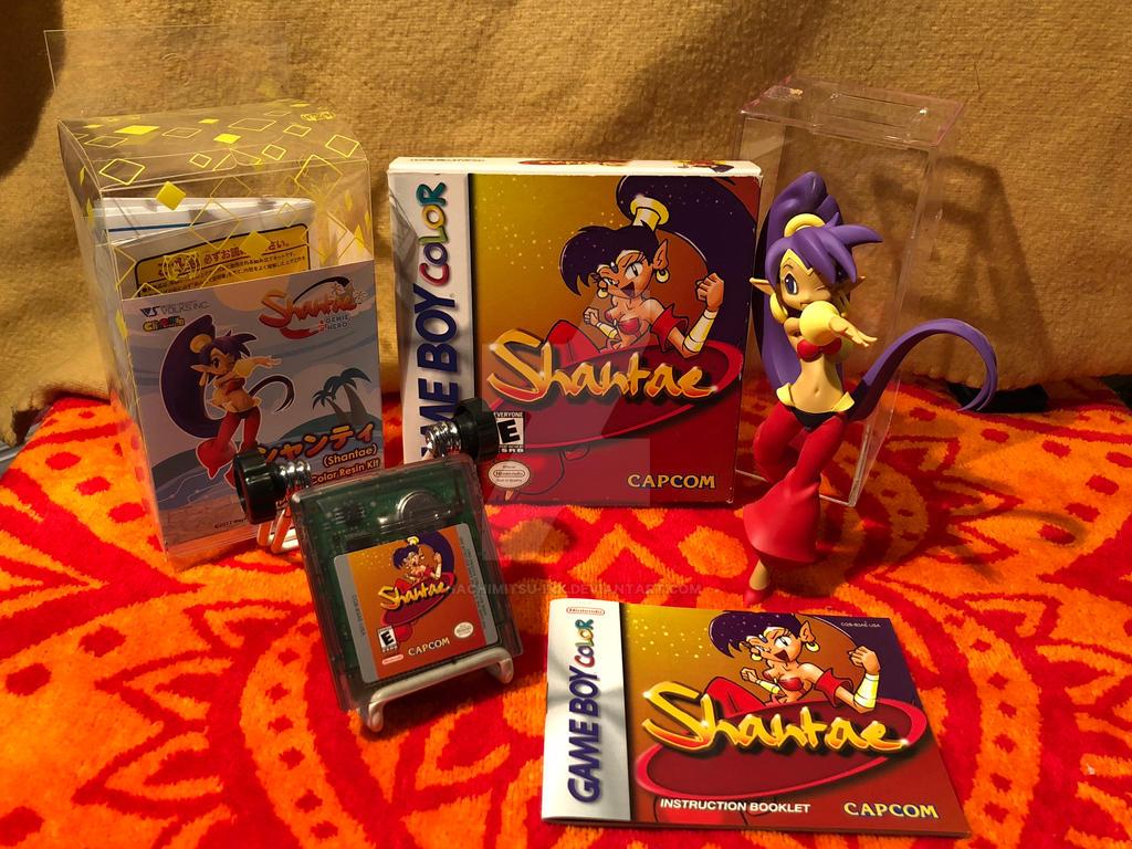 Happy 16th anniversary - Shantae by hachimitsu-ink