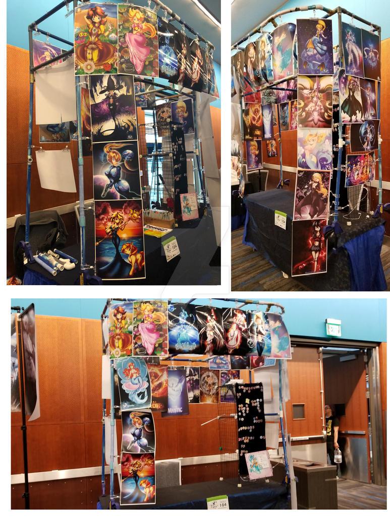 Booth 104 - hachimitsu ink by hachimitsu-ink