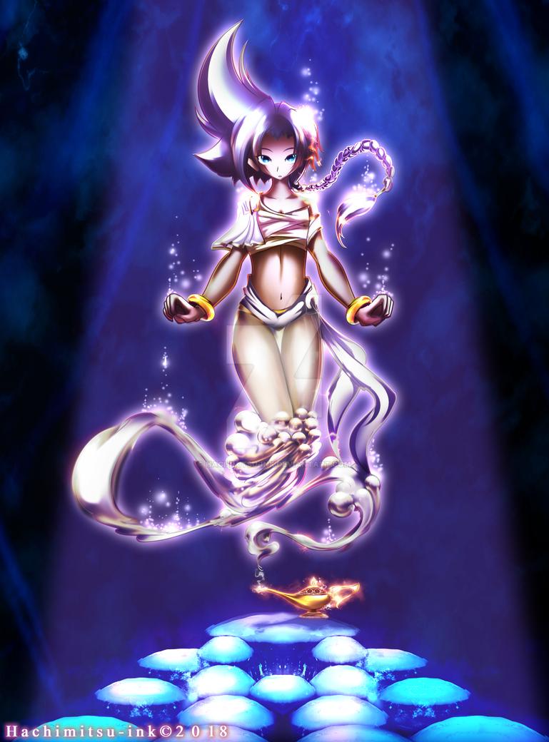 Genie Demitri Scaramanga by hachimitsu-ink