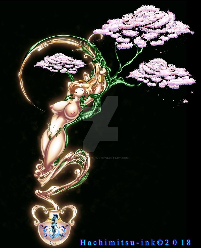 Genie Evie Awakened by hachimitsu-ink