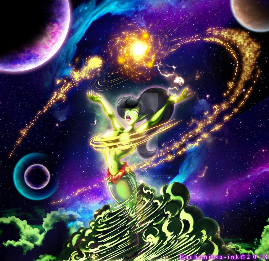 Phenominal cosmic powers - Eden by hachimitsu-ink