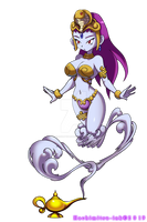 Genie of the Lamp - Risky boots