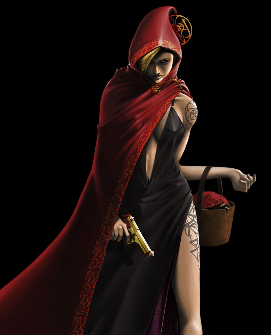 Little Red Riding Hood by Kougansharde