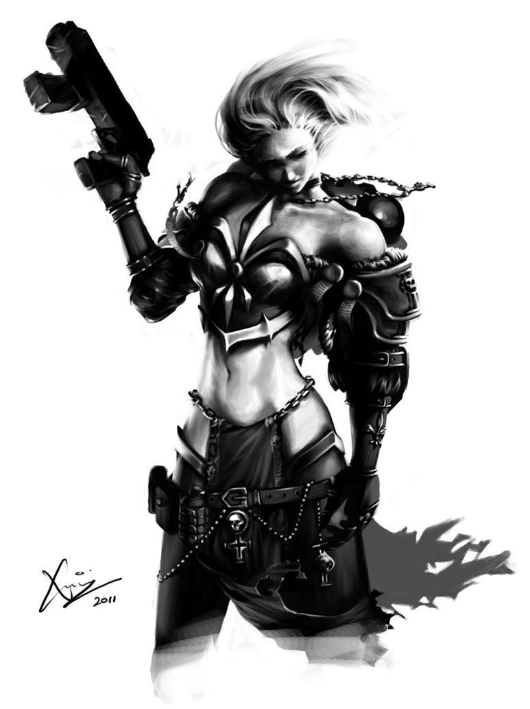 Sister of Battle by Kougansharde