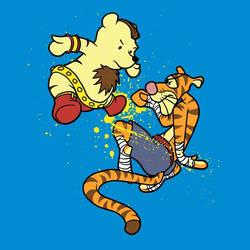 Bear-vs-tiger