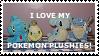 Pokemon Plushies by WarthogDemon