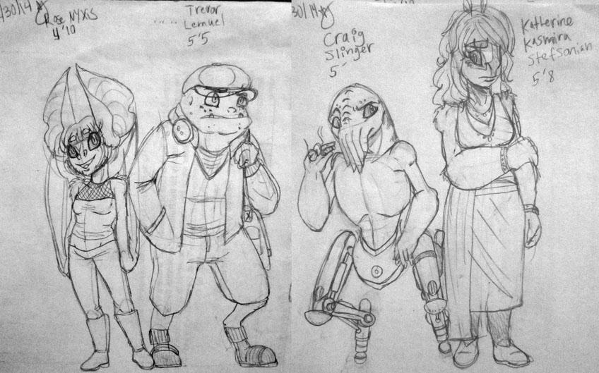 Nerd Squad by AlienGuardian