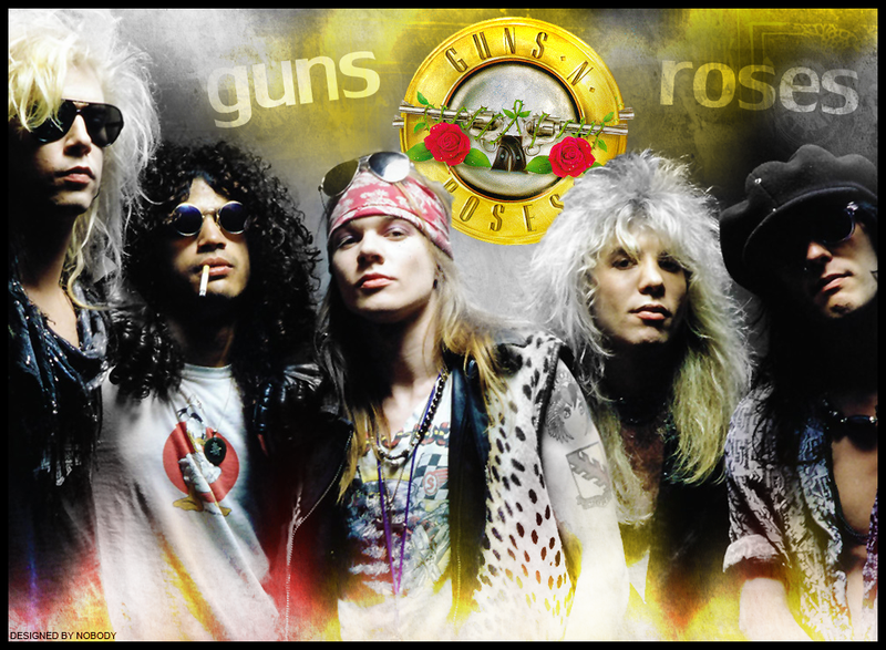 Guns N Roses Wallpaper: Wallpaper: Guns 'N' Roses By SomoKRoceS On DeviantArt