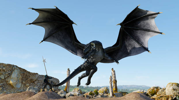 The Black Dragon of Wasted Mountain