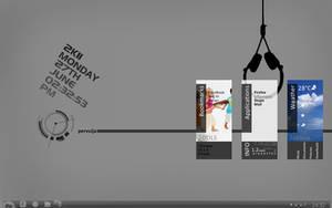 she rainmeter desktop by perv88