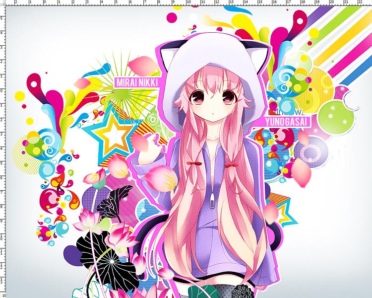 Gasai Yuno Wallpapers: Yuno Gasai [WALLPAPER] By Pain4 On DeviantArt