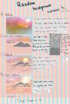 Random backgrounds tutorial in SAI
