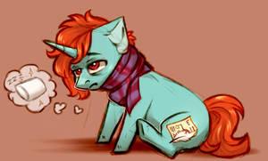 Tired poni by Segraece