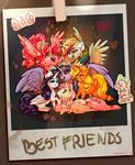 Six princesses of friendship (also Spaik) by Segraece