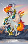 Pride and wings (STTDFTDBFM, day 9) by Segraece